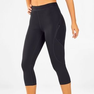 Fabletics High-Waisted Mesh UltraCool Crop